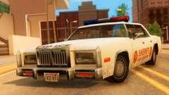 4-door Police Esperanto for GTA San Andreas