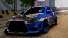 Mitsubishi Lancer Evolution X Taihou Itasha
