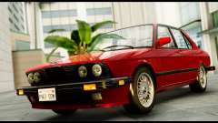 BMW M5 E28 1985 NA-spec