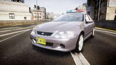 Ford Falcon XR8 Unmarked Police [ELS]