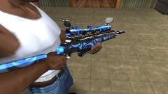 Blue Limers Sniper Rifle