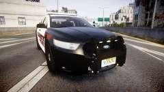 Ford Taurus 2010 Elizabeth Police [ELS]