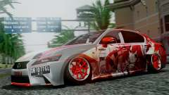 Lexus GS350 Stance Itsuka Kotori for GTA San Andreas
