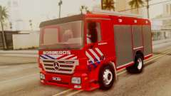 Mercedes-Benz Actros Bomberos for GTA San Andreas