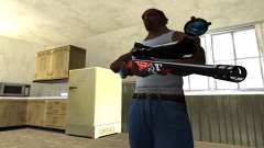 Red Shark Sniper Rifle for GTA San Andreas