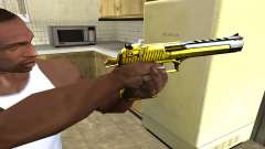 Yellow Deagle for GTA San Andreas