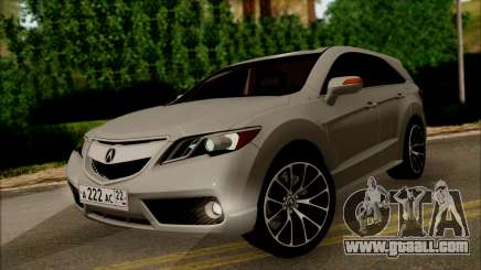 Acura RDX 2009 for GTA San Andreas