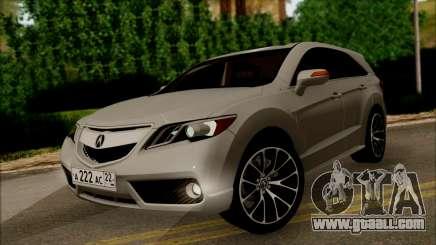 Acura RDX 2009 for GTA San Andreas