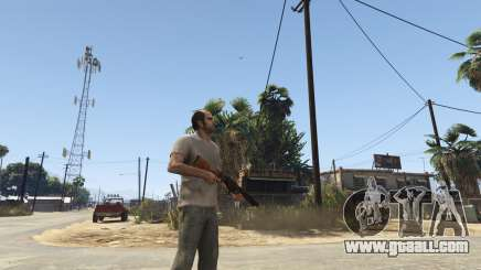 Mob of the Dead Blundergat for GTA 5