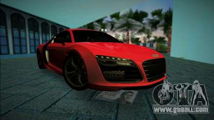Audi R8 V10 Plus 2014 for GTA Vice City