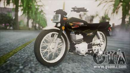 Suzuki AX 100 for GTA San Andreas