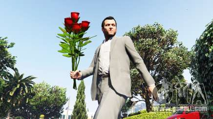 A bouquet of roses for GTA 5