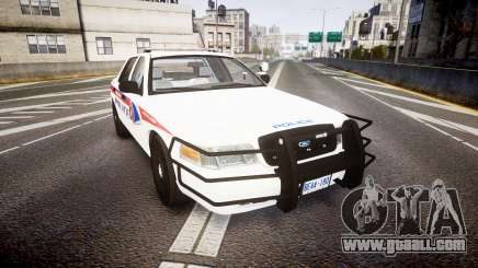 Ford Crown Victoria Bohan Police [ELS] WL for GTA 4
