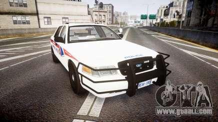 Ford Crown Victoria Bohan Police [ELS] WL for GTA 4