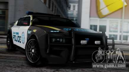 Hunter Citizen Police SF IVF for GTA San Andreas
