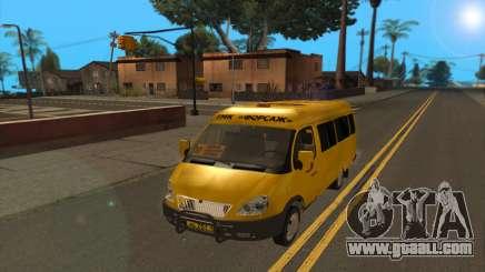 GAZ 2705 TMK fast and the furious for GTA San Andreas