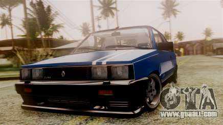 Renault 11 Turbo for GTA San Andreas