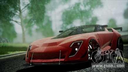 Bertone Mantide 2010 for GTA San Andreas