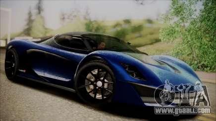 GTA 5 Grotti Turismo R SA Style for GTA San Andreas