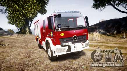 Mercedes-Benz Atego 1530 Firetruck [ELS] for GTA 4