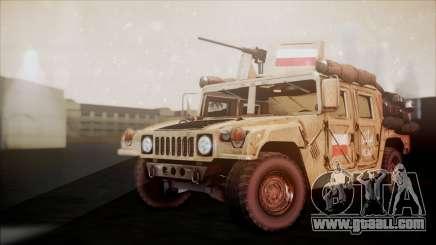 Polish HMMWV for GTA San Andreas