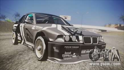 BMW M3 E36 GT-Shop for GTA San Andreas