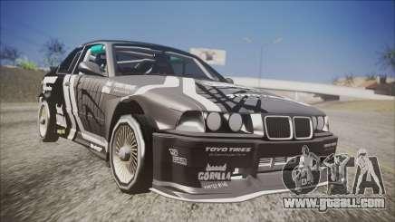 BMW M3 E36 GT-Shop for GTA San Andreas