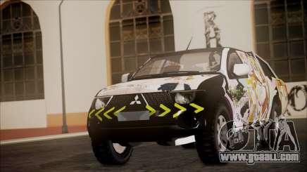 Mitsubishi Strada Triton Itasha for GTA San Andreas
