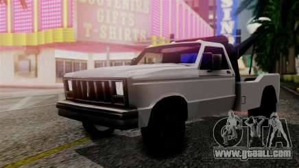 Towtruck New Edition for GTA San Andreas