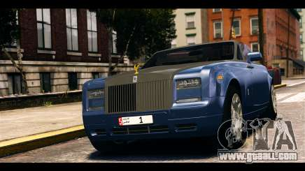 Rolls-Royce Phantom 2013 Coupe v1.0 for GTA 4