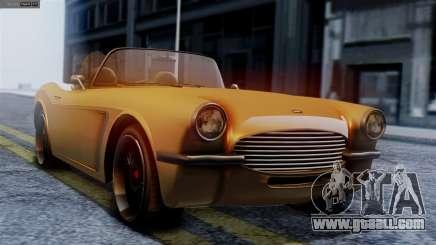 GTA 5 Invetero Coquette BlackFin for GTA San Andreas