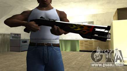 Flame Shotgun for GTA San Andreas