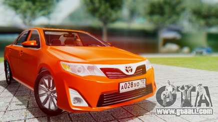 Toyota Camry 2012 for GTA San Andreas