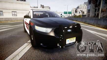 Ford Taurus 2010 Elizabeth Police [ELS] for GTA 4