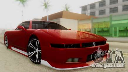 Infernus BMW Revolution with Plate for GTA San Andreas