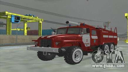 Ural 375 Firefighter for GTA San Andreas