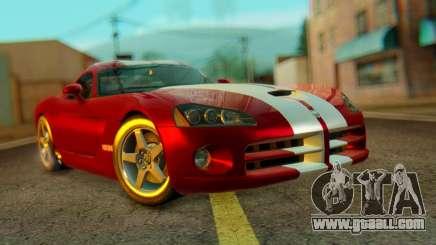 Dodge Viper SRT10 for GTA San Andreas