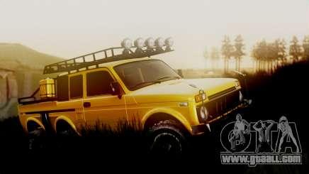 VAZ 2121 Niva 6x6 for GTA San Andreas