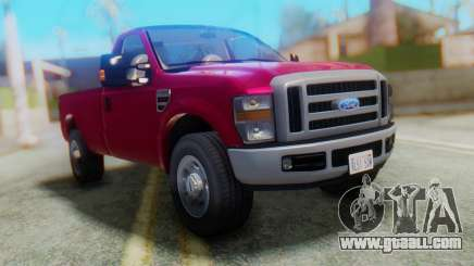 Ford F-350 Super Duty Regular Cab 2008 IVF АПП for GTA San Andreas