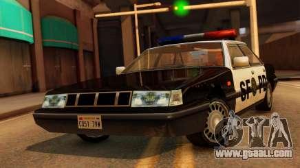 Police SF Intruder for GTA San Andreas