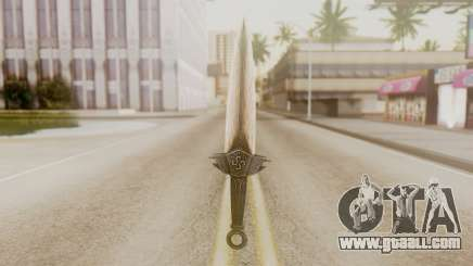 Dragon Dagger for GTA San Andreas