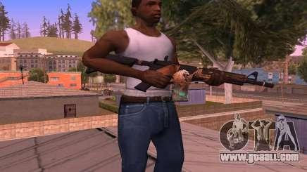 M4 Grifin for GTA San Andreas