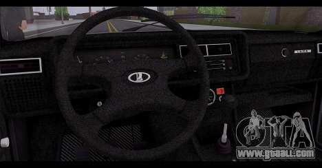 VAZ 2107 Runoff Quality for GTA San Andreas bottom view