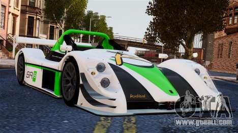 Radical SR8 RX 2011 for GTA 4
