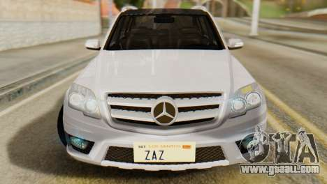 Mercedes-Benz GLK320 2012 for GTA San Andreas right view