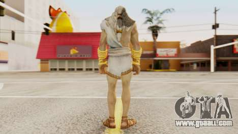 Zeus v2 God Of War 3 for GTA San Andreas third screenshot