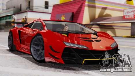 Pegassi Zentorno SM GT3 for GTA San Andreas