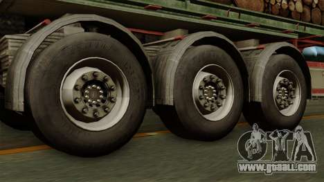 Trailer Cargos ETS2 New v2 for GTA San Andreas back left view