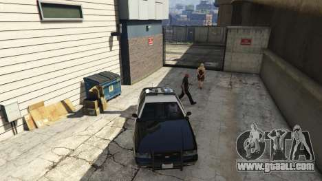 GTA 5 Arrest Peds V (Police mech and cuffs) sixth screenshot