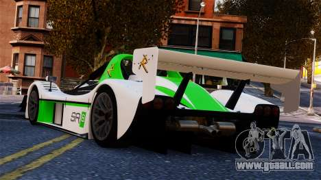 Radical SR8 RX 2011 for GTA 4 left view